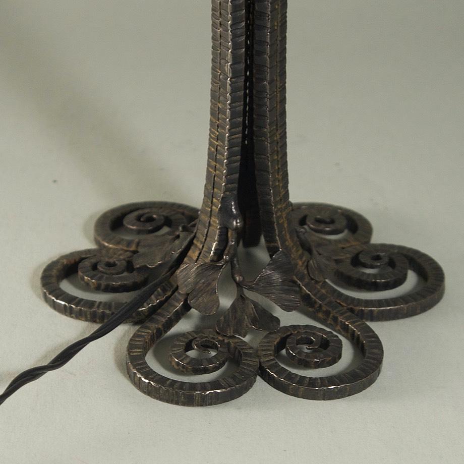 Edgar Brandt Daum Nancy Table Lamp Centurymodernism Com
